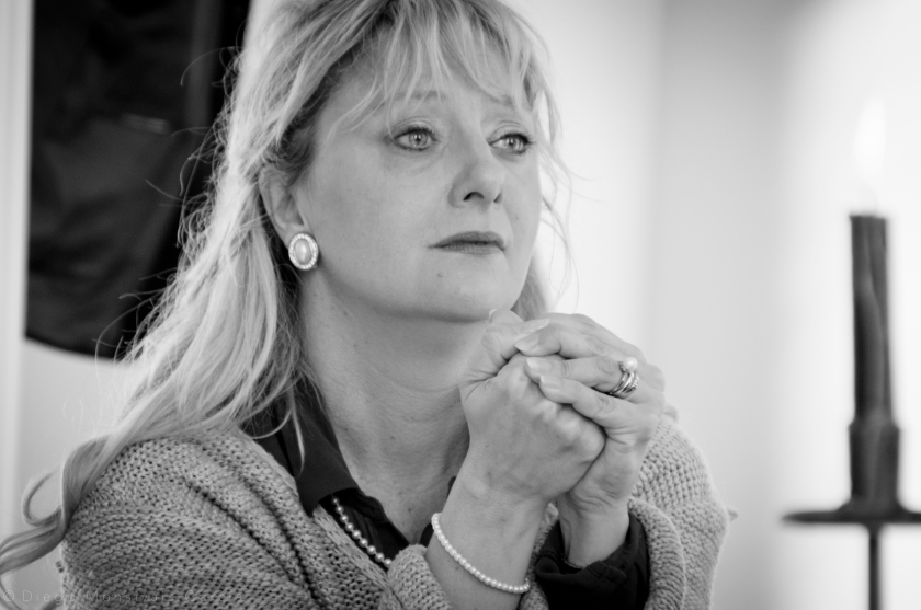 Vanessa Poole as the bereaved Miss A.